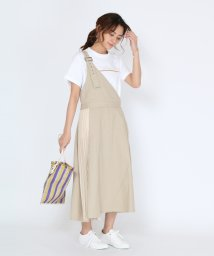 SCOTCLUB/Bouchon(ブション) ワンショルダーサイドプリーツジャンパースカート/503260239