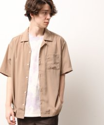JUNRed/オープンカラー半袖シャツ/503260650
