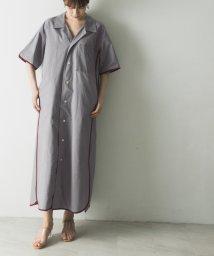URBAN RESEARCH/EARIH OPEN COLLAR SHIRTS DRESS/503261756