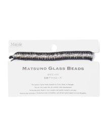ROPE' mademoiselle/【MATSUNO GLASS BEADS】ミサンガ風ブレス/503262267