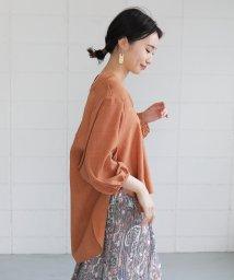 Bou Jeloud/抜け衿ゆるカラーシャツ/503125835