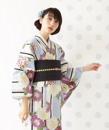 FURIFU/浴衣「縞花に牡丹」/ 夏・花火・祭/503155187