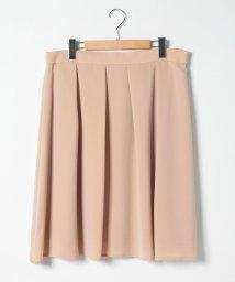 NATURAL BEAUTY LARGE/ハピネスサテンスカート/503181724