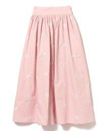 Ray BEAMS/sister jane / Dallas Daisy Embroidered Skirt/503196153