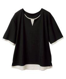 Ranan/接触冷感レイヤード風Tシャツ/503198793