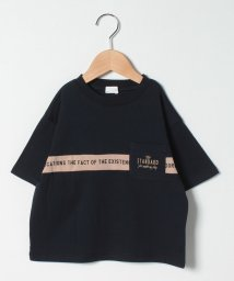 b-ROOM/ライン切替えビッグTシャツ/503216693