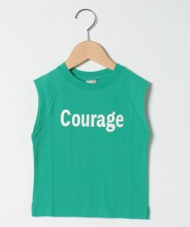 petit main/接触冷感 ロゴノースリーブTシャツ/503216704