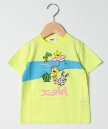 X-girl Stages/キャラクターバケーションTシャツ/503216708