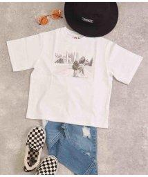 ANAP KIDS/フォト×バックプリントビッグTシャツ/503262952