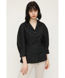 SLY/MUTTON SLEEVE TUCK SH/503263035