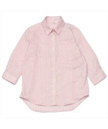BRICKHOUSE/シャツ 七分袖 形態安定 やわらかガーゼ レギュラー衿 綿100% レディース/503263334