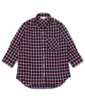 BRICKHOUSE/シャツ 七分袖 形態安定 やわらかガーゼ レギュラー衿 綿100% レディース/503263335