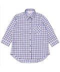 BRICKHOUSE/シャツ 七分袖 形態安定 やわらかガーゼ レギュラー衿 綿100% レディース/503263336