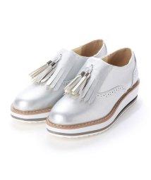 RiiiKa/リーカ RiiiKa 厚底タッセルシューズ (silver)/503264260