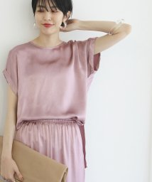 ADAM ET ROPE'/grape pomace dye shirt/503264584