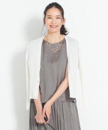 JIYU-KU(LARGE SIZE)/【洗える】ランダムリブ カーディガン/503266023