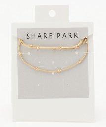 SHARE PARK /チェーンポインテッドネックレス/503266038