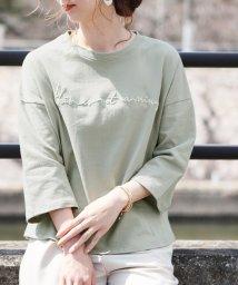 reca/筆記体ロゴTシャツ/501585281