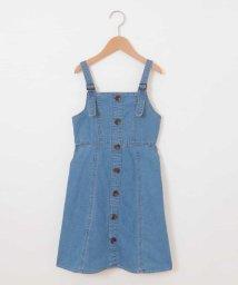 a.v.v(KID'S)/[160]フロントボタンジャンパースカート[WEB限定サイズ]/503086050