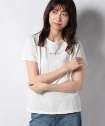 Afternoon Tea LIVING/ロゴ刺繍Tシャツ/503189335