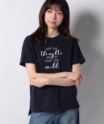 Afternoon Tea LIVING/メッセージ柄Tシャツ/503189344