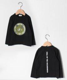 b-ROOM/きつねプリント長袖Tシャツ/503206215