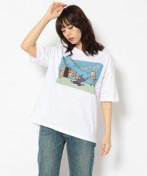 BEAVER/MASAKA×BEAVER×aimi odawara/マサカ×ビーバー×小田原愛美 別注 WS in da house tee Tシャツ  /503266134