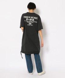 AVIREX/フェードウォッシュ ルーズフィット ミリタリー ポケットTシャツ/FADE WASH LOOSEFIT MILITARY POCKET T-SHIRT/503266137
