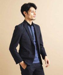 MICHEL KLEIN HOMME/【洗える】ジャケット(ミストチェックトピーレ)/503266201