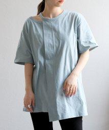 ANDJ/肩開きアシンメトリーTシャツ/503268728