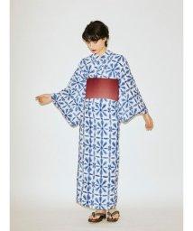 jouetie/【セレクト浴衣】板締め格子花/503123234