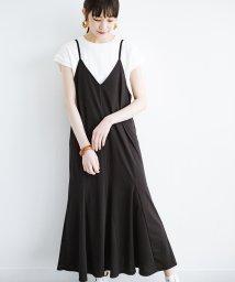 haco!/Tシャツの上からゆるりと着るだけでスタイルが決まるカットソーキャミワンピース/503207025