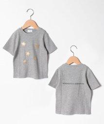 b-ROOM/【セットアップ対応商品】星アップリケワッフルTシャツ/503246130