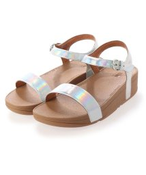 FITFLOP/フィットフロップ fitflop LAURA IRIDESCENT SCALE BACK-STRAP SANDALS (Urban White)/503261620