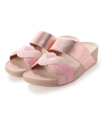 FITFLOP/フィットフロップ fitflop PAISLEY ROPE SLIDES (Soft Pink)/503261622