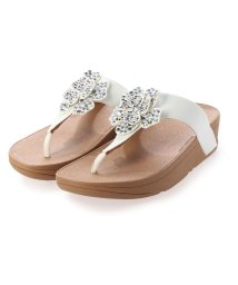 FITFLOP/フィットフロップ fitflop LOTTIE CORSAGE TOE-THONGS (Urban White)/503261627