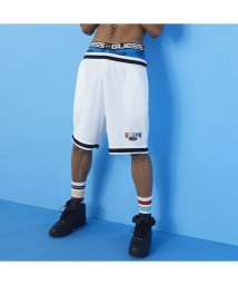 GUESS/ゲス GUESS GUESS x J BALVIN Basketball Short (PURE WHITE)/503268265