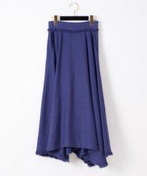 GRACE CONTINENTAL/フリンジラップ風スカート/503274964