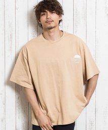 CavariA/CavariA【キャバリア】インディゴアップリケビッグTシャツ/503275212