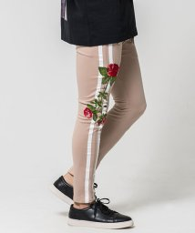 CavariA/CavariA【キャバリア】バラ刺繍ジョッパーズパンツ/503275213