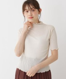 SHOO・LA・RUE Cutie Blonde/【M-L】フリル使いハイネックカットソー/503275464