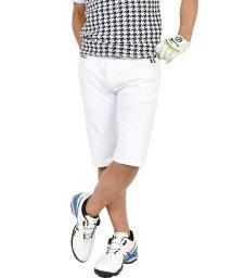 SantaReet/【COMON GOLF】トリコロールラインスーパーストレッチゴルフショートパンツ(CG-S0009)/503276414