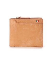 Milagro/ミラグロ Milagro イタリアンヌバック 23ポケット二つ折り財布 (キャメル)/503276637