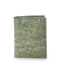 Milagro/ミラグロ Milagro イタリアンヌバック コンパクト二つ折り財布 (グリーン)/503276646
