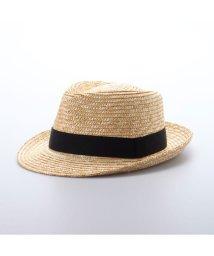 Tanaka-Hat/タナカ ハット 田中帽子店 Noah(ノア)麦わら中折れ帽子 (ナチュラル)/503276838