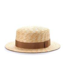 Tanaka-Hat/タナカ ハット 田中帽子店 marin/G(マラン・ジー)カンカン帽 (ベージュ)/503276843