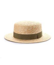 Tanaka-Hat/タナカ ハット 田中帽子店 marin/G(マラン・ジー)カンカン帽 (カーキ)/503276844