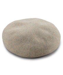 Yokoi-Boshi/ヨコイボウシ よこい帽子 八角ビックベレー帽 (MIXベージュ)/503277098