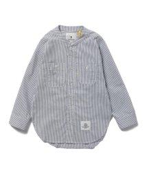こどもビームス/SMOOTHY / スタンドカラー 長袖シャツ (90~130cm)/503277200