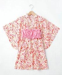 SHOO・LA・RUE(Kids) /【90-140cm】タキナガレ浴衣ワンピース/503277216